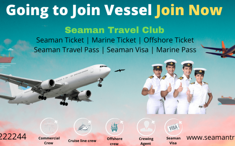 How to book a seaman flight ticket?